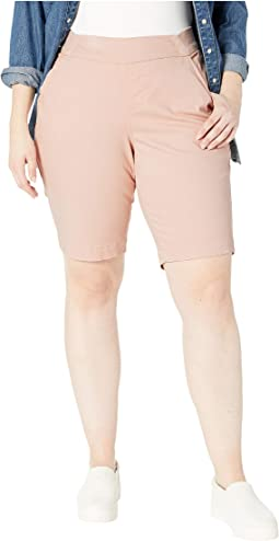 Plus Size Gracie Pull-On Bermuda Shorts