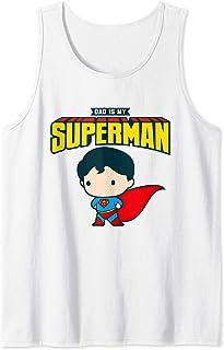 Superman My Dad Is My Hero Débardeur