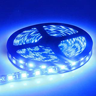 Amazon Com Blue Led Strip Lights Novelty Lighting Tools Home Improvement