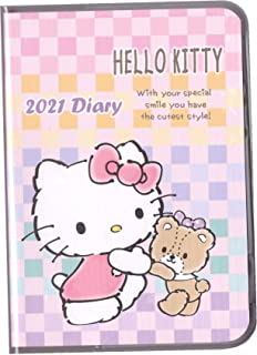 $21 » 2020~2021 Hello Kitty Journal Planner Weekly Monthly Yearly Schedule Book Organizer Daily A6