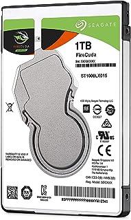 Seagate FireCuda - Disco duro interno SSHD de 1 TB (2.5', 7 mm, 128 MB de caché, 5400 RPM y SATA 6 GB/s hasta 140 MB/s para PC y PS4), Negro (Reacondicionado Certificado)