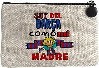 Diver Bebé Monedero soy del Barcelona como mi madre - Beige ...