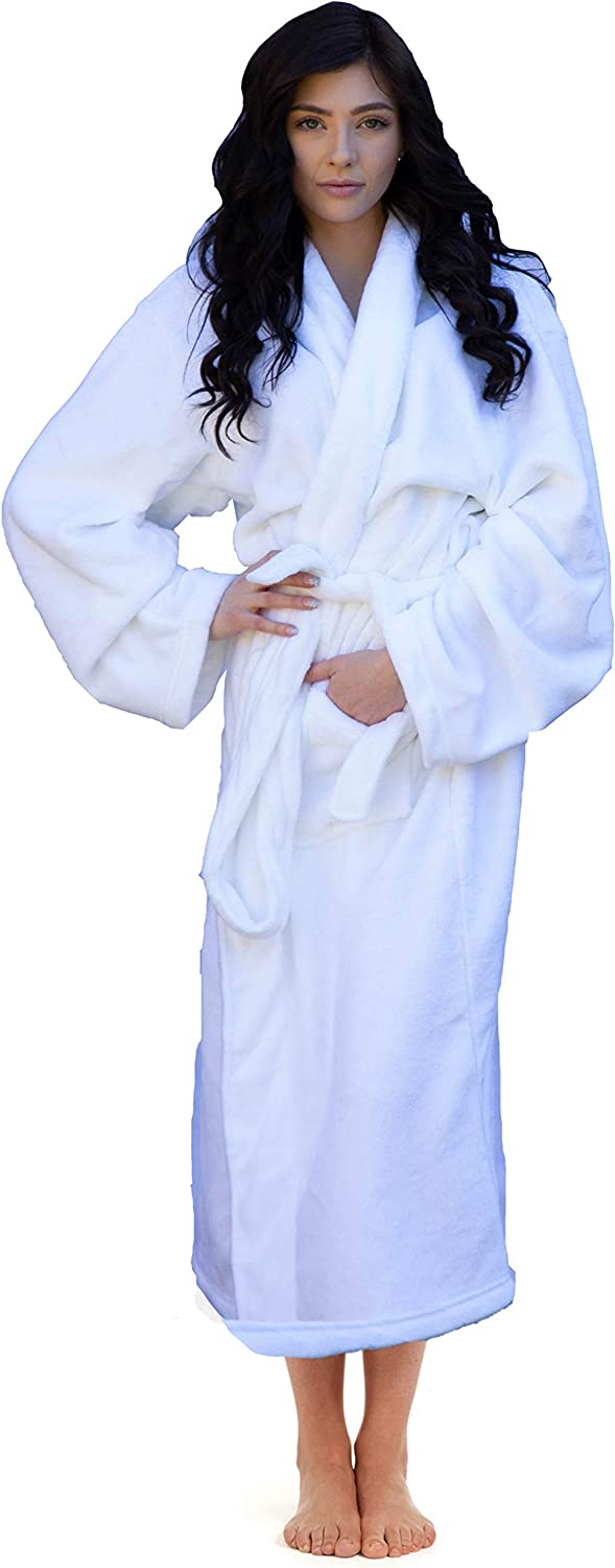 Higher Comfort Luxuriously Soft Robe  48  Length  Super Soft & Great Gift