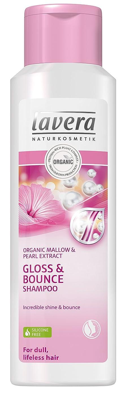 汚れるリテラシー意気込みラヴェーラ Organic Mallow & Pearl Extract Gloss & Bounce Shampoo (For Dull, Lifeless Hair) 250ml/8.3oz並行輸入品