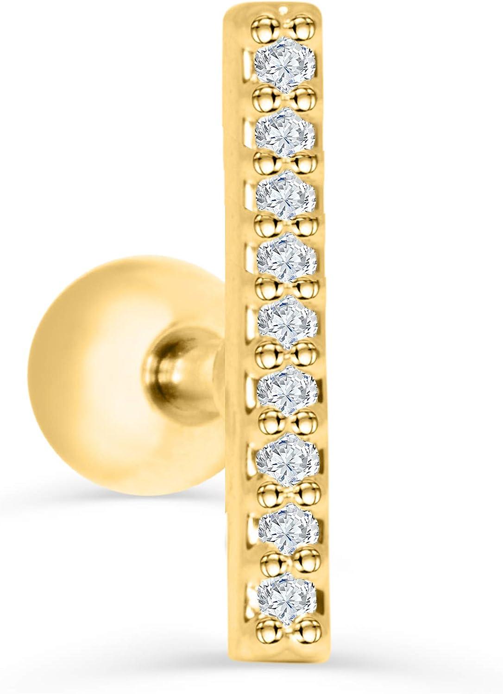 国内正規品 ONDAISY 14K Real Solid [再販ご予約限定送料無料] Yellow Lucky Skinny Modern Gold Horizonta