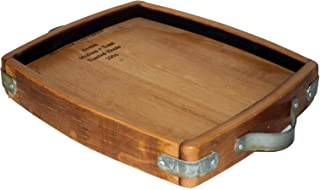 Old River Road TRAY005 Wine and cheese tray, large, Shellac
