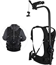 Happybuy 17.6lb - 39.7lb Capacity Easy Rig Video Film Camera Support System with Serene Damping Arm for 3 Axis Stabilized Handheld Gimbal Stabilization Vest Camcorders Steadycam Body Mount Stabilizer