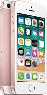 Apple iPhone SE, 1st Generation, 32GB, Rose Gold - For AT&T (Renewed)