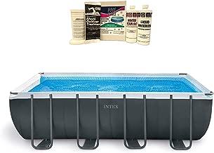 Intex 18ft x 9ft x 52in Ultra XTR Frame Pool w/Pump Filter & Winterizing Kit