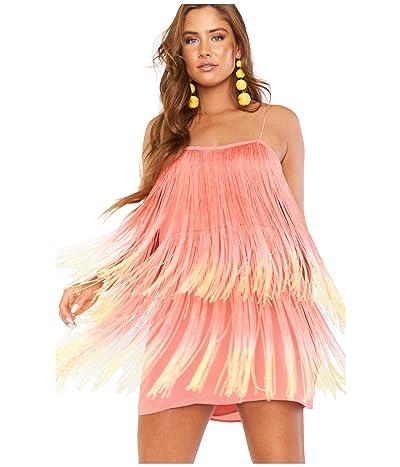 Show Me Your Mumu Fringe Mini Dress (Sunset Fringe) Women