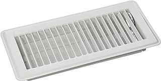 MINTCRAFT FR01-4X10W ProSource Floor Register, 4 in H X 10 in W, Steel, 4