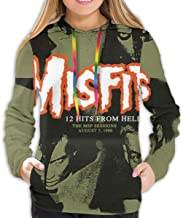 Misfits 12 Hits from Hell Woman Classic Particular Hoodie Sweatshirt