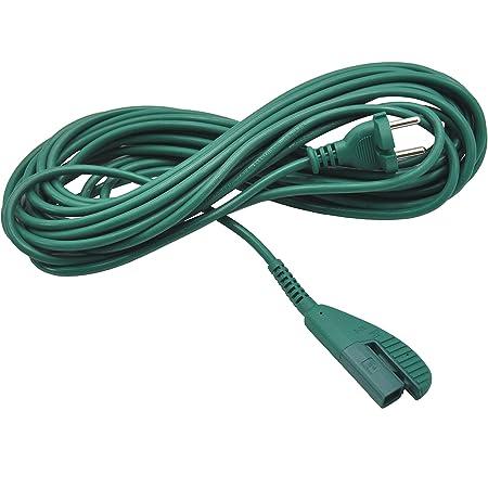 in grau Kabel 10 m Anschlusskabel geeignet für Vorwerk Kobold 150-10m