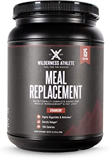 Wilderness Athlete: Meal Replacement & Recovery Shake, Nutritionally Complete Shake for Muscle Management and Fat Loss, St...