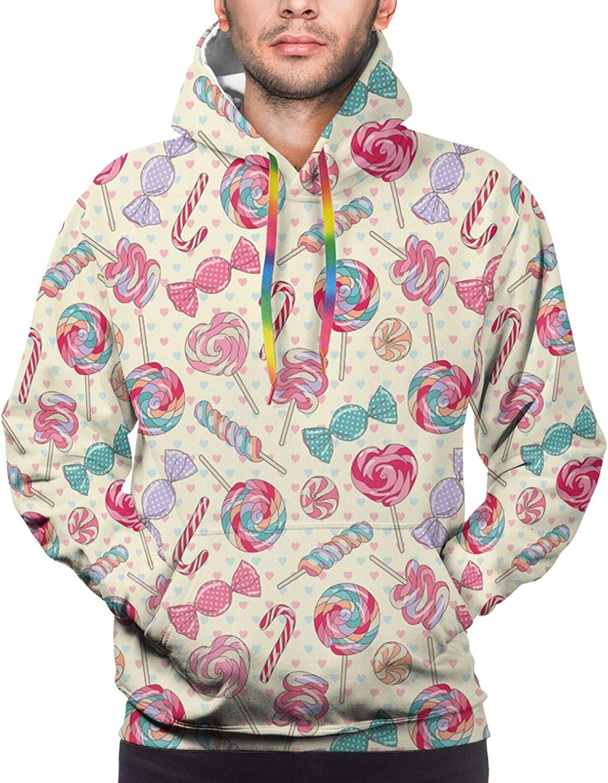 Men's Hoodies Sweatshirts,Yummy Chopped Slices Juicy Fresh s Delicious Nature Illustration