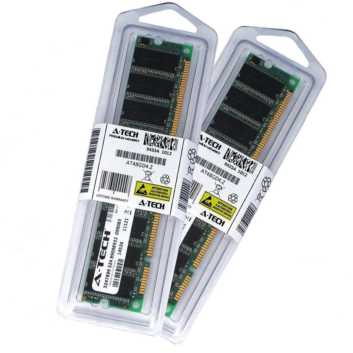 ふつう新聞平行256?MBキット( 2?x 128?MB ) for Acer AcerPower 6200?333?366?400?8000?266b / C 8000?300?A / B / C 8000?333?A 6000?266?A / 266b / 300?a / 333?a。ECC DIMM SD pc66?66?MHz RAMメモリ。A - Techブランド純正。