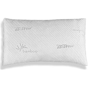 Xtreme Comforts Hypoallergenic, Adjustable Thickness, Kool-Flow Bamboo Shredded Memory Foam Pillow for Sleeping, Back, Side & Stomach Sleepers, King Size, Made in USA