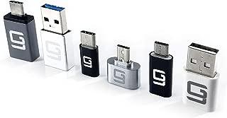 USB Cアダプター [6パック] USB 3.0 Micro USB USB 2.0 Type C USB 3.1 USB-Cコンバーター OTGデータ転送 最大10Gbps対応 高速充電 ノートパソコン スマートフォン タブレットに対応