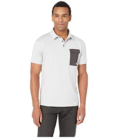 Helly Hansen Oksval Short Sleeve Polo (Grey Fog Melange) Men