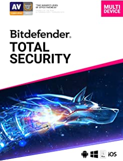 Bitdefender Total Security - 5 Devices | 2 year Subscription | PC/Mac | Activation Code by email