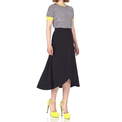 6e8b997a51554 Dani s Choice Easy Chic Wrap Style Full Flared Skater Swing Midi Long Maxi  Skirt