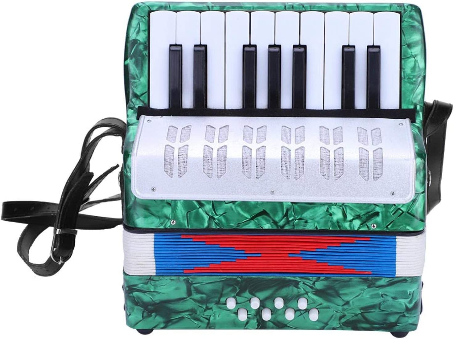 Beginner 70% OFF Outlet Accordion Over item handling ☆ 17 Key 8 Mini Accordio Piano Bass