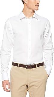 Van Heusen Men's Euro-Tailored Fit Dobby Business Shirt