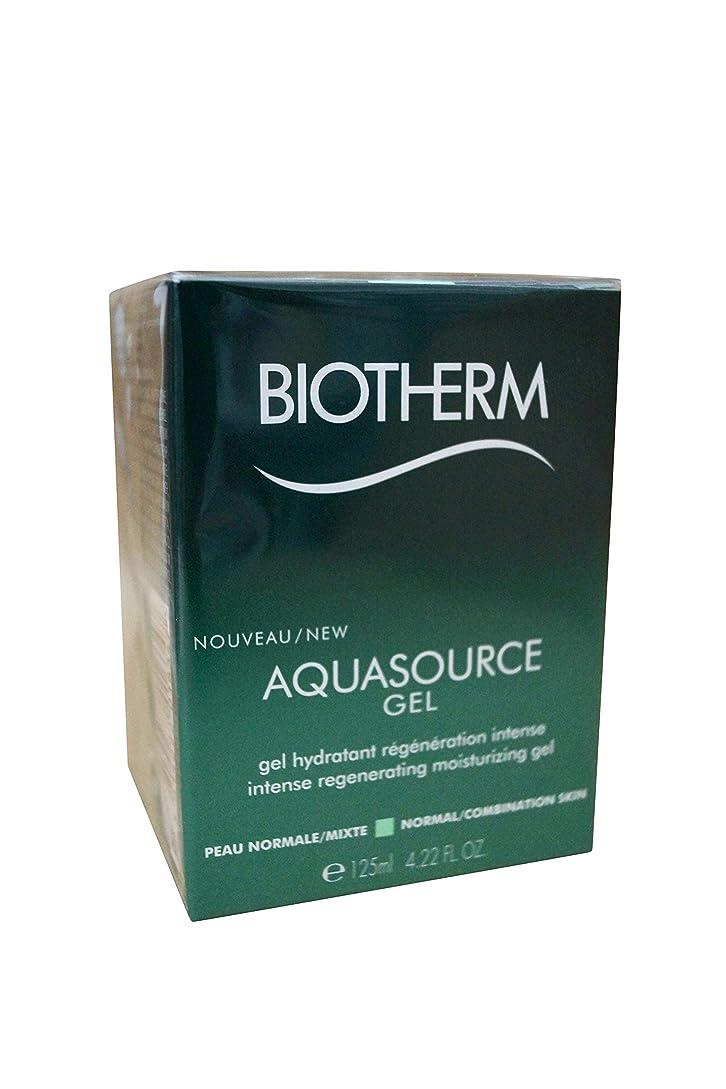 囲いトラップ釈義ビオテルム Aquasource Gel Intense Regenerating Moisturizing Gel - For Normal/Combination Skin 125ml/4.22oz並行輸入品