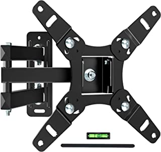 Full Motion TV Wall Mount Bracket for 13-45 Inch TV JUSTSTONE Wall TV Mount Swivel Durable Arms Anti- Glaring Min VESA 75x...
