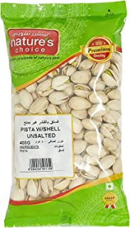 Natures Choice Unsalted Pista with Shell - 400 gm