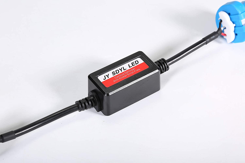 JYSDYL H4,9004,9005//9006,9007,H1,H7,H11,H13 LED Canbus Decoder H1 car headlight anti-flickering decoder