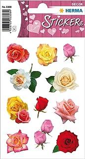 HERMA Love Love Sticker autocollant pour la Saint-Valentin, un mariage, un scrapbooking ou comme cadeau, 36 autocollants d...