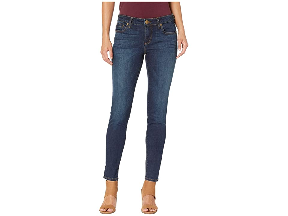 KUT from the Kloth Petite Diana Skinny in Systematic/Euro Base Wash (Systematic/Euro Base Wash) Women