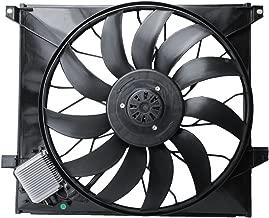 TOPAZ 1635000293 Radiator Brushless Cooling Fan Assembly for Mercedes W163 ML55 AMG 00-03 ML500 02-05