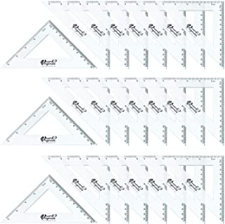 Pack of 24, 90° Set-Squares, 5 inch/ 13cm