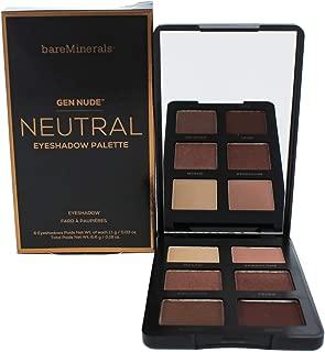 Bare Escentuals Gen Nude Eyeshadow Palette for Women, Neutral, 0.18 Oz