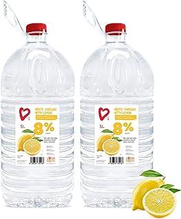 Living Earth 2 x 5 litres | 8% Vinagre Blanco con Limón (8%)