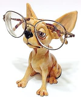 Chihuahua Dog Breed Novelty Eyeglass Holder Stand
