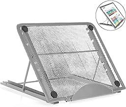 RabbitStorm Soporte de Refrigeración para Portátil, Soporte Ventilado y Ajustable para Laptop - Puede Ajustar 6 ángulos, R...