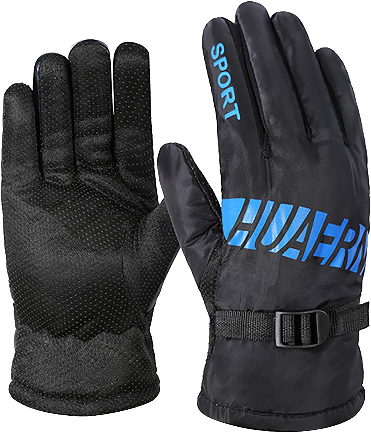 Winter Gloves for Men Women,Winter outdoor sports gloves windproof to-uch screen cycling mountaineering