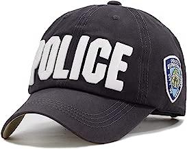 Police Embrace Hat Unisex Hat Baseball Cap Men Women New York Adjustable Cotton Outdoor Bone