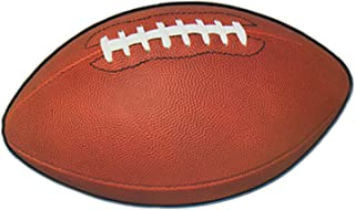 Beistle 55595 24-Pack Football Cutouts for Parties, 11 by 18-Inch