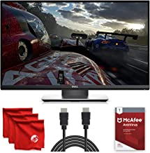 Dell Pro Gaming Monitor S2417DG YNY1D 24-Inch QHD G-SYNC LED-Lit TN Screen 2560 x 1440, 165Hz Refresh Rate, 1ms Response Time, 16:9 Aspect Ratio Bundle with McAfee Antivirus 1-Year