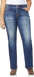 WallFlower Women's Plus-Size InstaStretch Luscious Curvy Bootcut Jeans