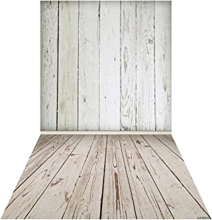Andoer Backdrop Photography Background Wood Wall Picture for DSLR Camera Children Newborn Wedding Photo Studio Video