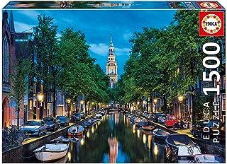 اديوكا لعبة الغاز مدينة امسيتردام 1500 قطعة للاطفال ، 16767
