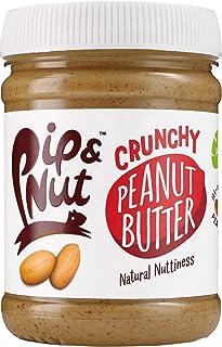 Pip & Nut Crunchy Peanut Butter - 6 x 255g - Absolutely No Palm Oil, Hi-Oleic Argentinian Peanuts, High in Fibre, Vegan Fr...
