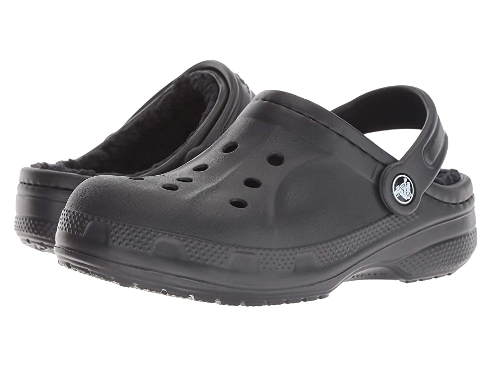 Crocs Kids Ralen Lined Clog (Toddler/Little Kid) (Black/Black) Kid