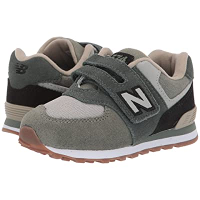 New Balance Kids IV574v1 (Infant/Toddler) (Faded Rosin/Black) Boys Shoes
