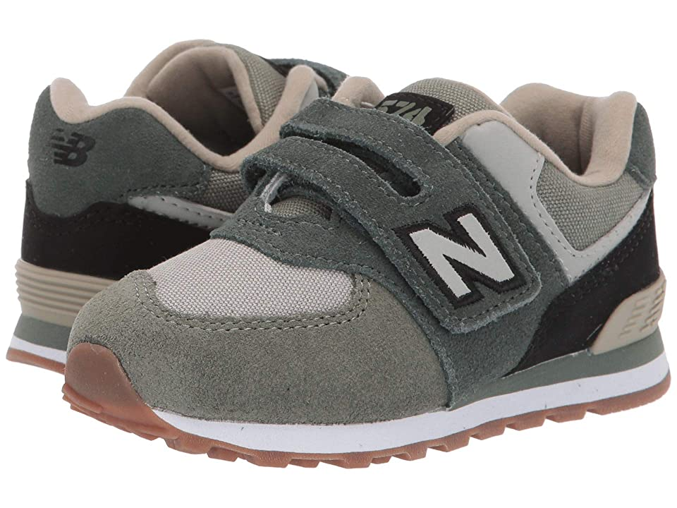 New Balance Kids IV574v1 (Infant/Toddler) (Faded Rosin/Black) Boys Shoes